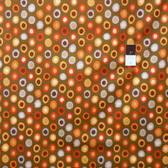 Brandon Mably BM15 Rings Olive Quilt Cotton Fabric By The Yard