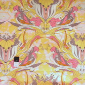 Tina Givens TG94 Pernilla's Journey Parrot Jungle Lemon Curd Fabric By Yd