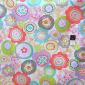 Erin McMorris PWEM034 LaDeeDa Pixie Coral Fabric By The Yard