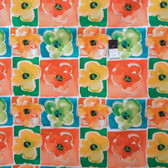 Kathy Davis PWKD066 Pocketful Of Poppies Poppy Power Citrus Fabric By Yard
