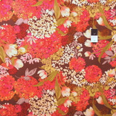 Nel Whatmore PWNW029 Eden Brown Fabric By Yard