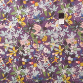 Felicity Miller PWFM040 Botanica Tundra Flower Deep Cotton Fabric By Yard