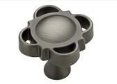 "085-03-2941 1 1/8"" Heirloom Silver Lucine Cabinet Drawer Knob 10 Pack"