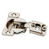 "850304 35mm Euro HInge 1/2"" Overlay 105° Nickel Finish 10 Pack"