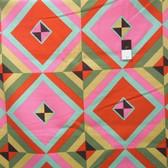 Amy Butler LIAB004 Hapi Sky Pyramid Caramel LINEN Fabric 2 Yard