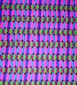 Carla Miller CM14 Laguna Basket Stripe Royal Cotton Fabric 1 Yard