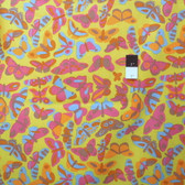Brandon Mably PWBM038 Flutter Lime Quilt Cotton Fabric By The Yard