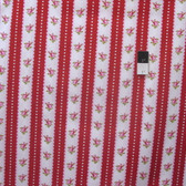 Tanya Whelan PWTW080 Valentine Rose Valentine Ticking Red Fabric By The Yard
