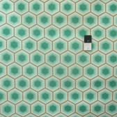 Tula Pink PETP002 Bumble Honeycomb Jade Cotton Fabric By The Yard