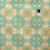Joel Dewberry PWJD068 Notting Hill Historic Tile Canary Cotton Fabric By Yd