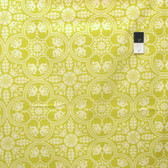 Joel Dewberry PWJD068 Notting Hill Historic Tile Citron Cotton Fabric By Yd