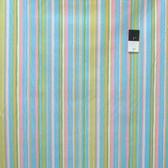 Dena Designs PWDF185 Tiddlywinks Stripe Blue Fabric By The Yard