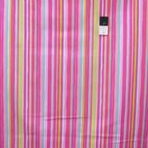 Dena Designs PWDF185 Tiddlywinks Stripe Pink Fabric By The Yard