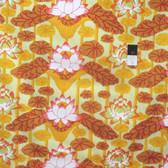 Kaffe Fassett PWGP140 Lotus Stripe Gold Cotton Fabric By The Yard