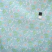 Dena Designs PWDF198 Chinoiserie Chic Jasmine Aqua Cotton Fabric By Yard