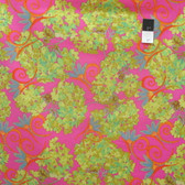 Nel Whatmore PWNW022 Katherine's Wheel Hydrangea Fuchsia Cotton Fabric By Yard