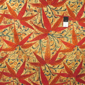Victoria and Albert PWVA024 Godwin Bamboo Sunset Cotton Fabric By Yard