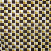Denyse Schmidt PWDS071 Hadley Diagonal Blocks Sunflower Fabric 1 Yard