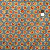 Kaffe Fassett GP135 Surrey Grey Cotton Fabric By The Yard