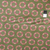 Tula Pink PWTP041 Acacia Pineapple Slices Olive Cotton Fabric 1 1/2 Yard