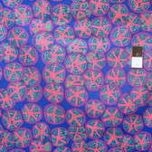 Brandon Mably PWBM032 St. Clements Blue Fabric By The Yard