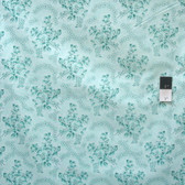 Verna Mosquera PWVM110 Rosewater Soft Blossom Mint Fabric By Yd