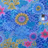 Kaffe Fassett PWGP148 Dream Blue Cotton Fabric By The Yard