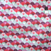 Tula Pink PWTP066 Elizabeth Chain Mail Plum Cotton Fabric By The Yard