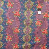 Verna Mosquera PWVM133 Indigo Rose Blossom Time Midnight Cotton Fabric By Yd