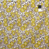 Denyse Schmidt PWDS070 Hadley Old Fashioned Floral Sunflower Fabric By The Yard