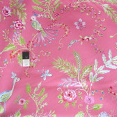 Dena Designs PWDF193 Chinoiserie Chic Birdsong Pink Fabric By The Yard