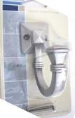 085-03-3391 Classic TriBand Single Hook Brushed Satin Pewter