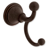 Delta 138038 Crestfield Bath Double Robe Hook Venetian Bronze Finish