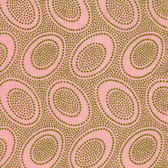 Kaffe Fassett GP71 Aboriginal Dot Pink Cotton Fabric By The Yard