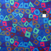 Brandon Mably PWBM057 Puzzle Cobalt Quilt Cotton Fabric By The Yard