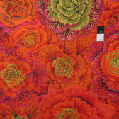 Philip Jacobs PWPJ051 Brassica Rust Cotton Fabric By The Yard