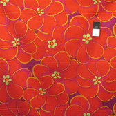 Brandon Mably PWBM056 Elephant Flower Orange Quilting Cotton Fabric By The Yard