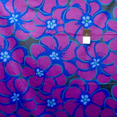 Brandon Mably PWBM056 Elephant Flower Purple Quilting Cotton Fabric By The Yard