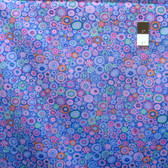 Kaffe Fassett PWGP020 Paperweigh​t Blue Cotton Fabric By The Yard