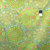 Kaffe Fassett PWGP092 Millefiore Green Cotton Fabric By The Yard