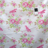 Tanya Whelan PWTW116 Zoey's Garden Zoey Birdie White Cotton Fabric By Yd