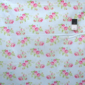 Tanya Whelan PWTW119 Zoey's Garden Zoey Rose Blue Cotton Fabric By Yd