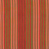 Kaffe Fassett Caterpilla​r Stripe Tomato Woven Cotton Fabric By The Yard