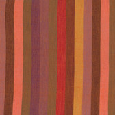 Kaffe Fassett Broad Stripe Red Woven Cotton Fabric By The Yard