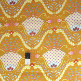 Dena Designs PWDF174 Little Azalea Hyacinth Orange Cotton Fabric By Yard