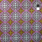 Joel Dewberry JD44 Aviary 2 Scrollwork Lilac Cotton Fabric By Yd