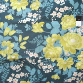 Joel Dewberry PWJD047 Flora Rose Bouquet Eucalyptus Cotton Fabric By Yd