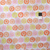 Erin McMorris PWEM066 Palermo Adela Coral Cotton Fabric By The Yard