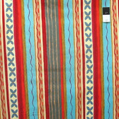 Nel Whatmore PWNW024 Katherine's Wheel Stripe Red Cotton Fabric By Yard