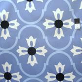 Vicki Payne HDVP23 Logan Blossom Blue Cotton HOME DECOR Fabric By Yd